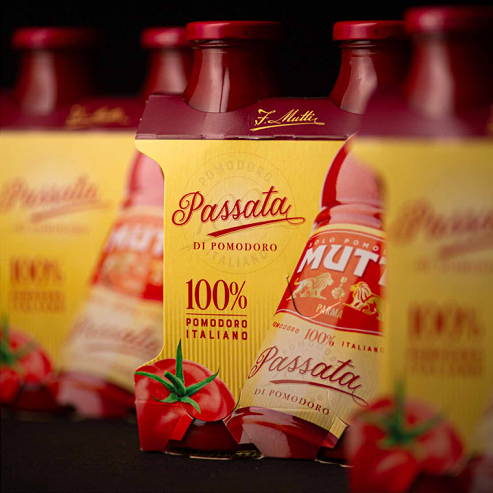 Dispenser - Packaging - Passata Mutti