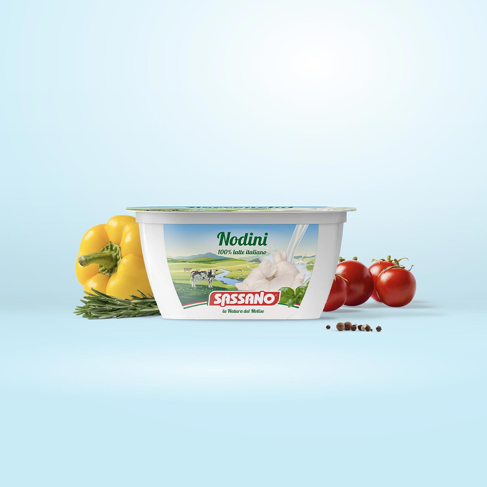 Dispenser - Packaging - Caseificio Sassano - Nodini